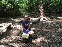 CHCA Student Creates New Outdoor Classroom Space