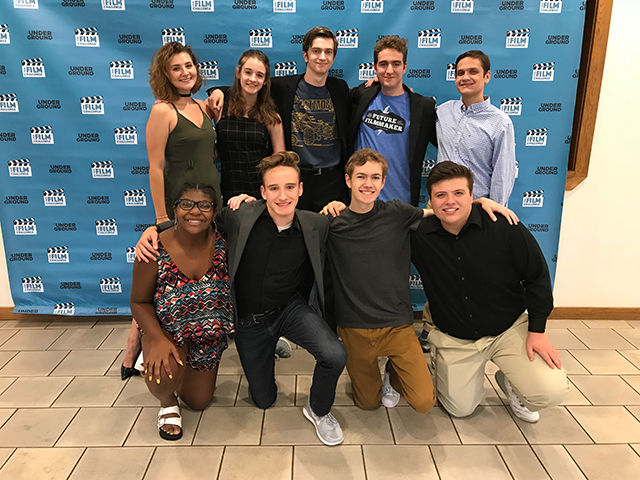 Local Student Team Wins Three Awards in Teen Film Challenge