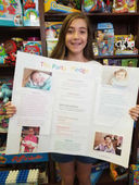 CHCA Grade 6 Student Makes a Difference in the Lives of Foster Children