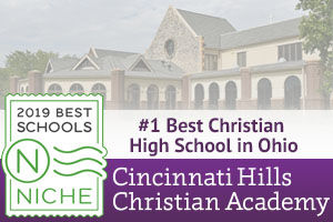 CHCA's Upper School Named Best Christian High School in Ohio