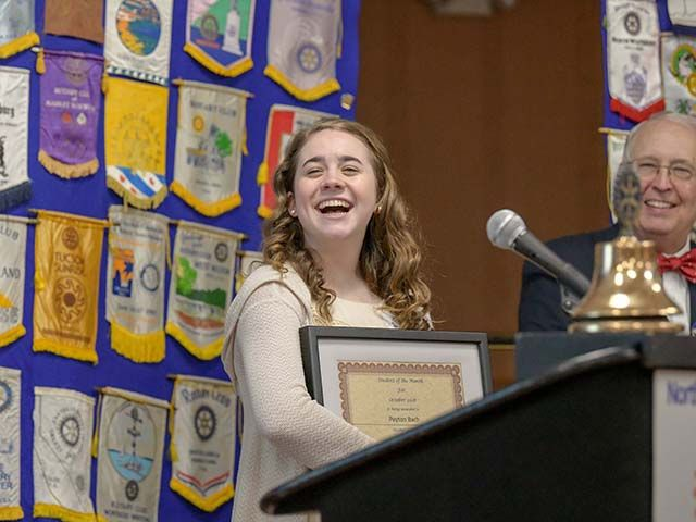 Northeast Cincinnati Rotary Honors CHCA Student