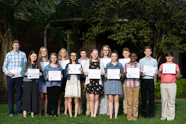 CHCA Names 2019 Upper School Scholarship Winners