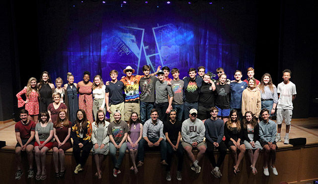 Seventeen CHCA Students Inducted into International Thespian Society